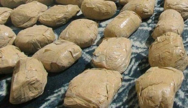 کشف بیش از هشت کیلوگرم مخدر صنعتی در همدان