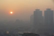 ماندگاری وافزایش هوای آلوده تا پایان هفته جاری در البرز