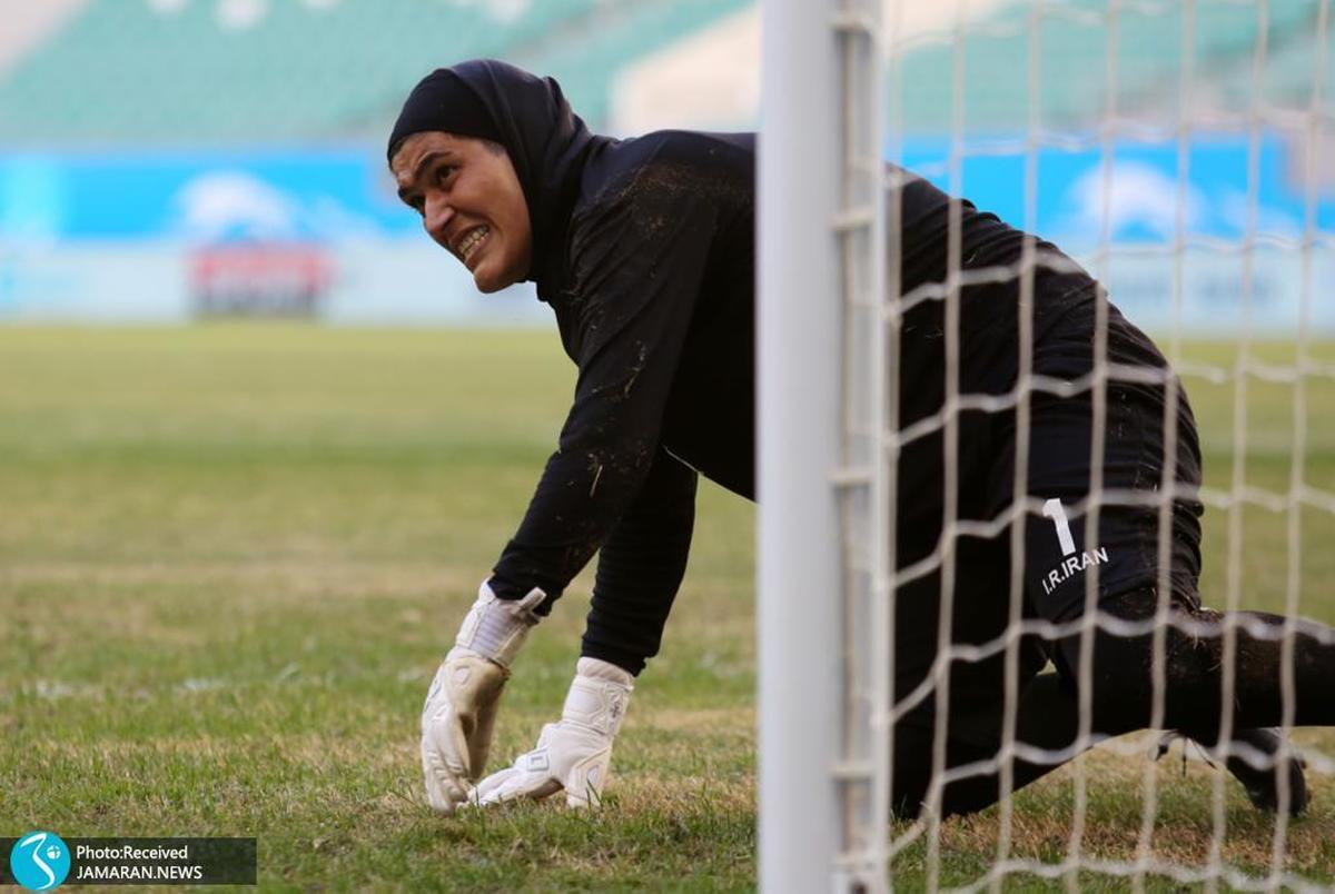 شبه عابدزاده در تیم ملی فوتبال زنان ایران!