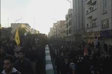 حضور پر شور مردم در پل کالج