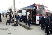 ۲ دستگاه اتوبوس در تکاب توقیف شد