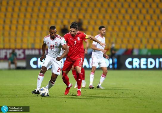 علیرضا جهانبخش تیم ملی فوتبال ایران امارات