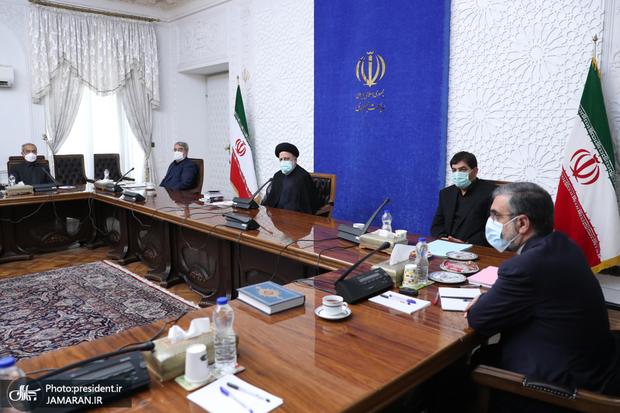 غیبت نمکی در جلسه کمیتههای تخصصی ستاد ملی مقابله با کرونا + تصاویر