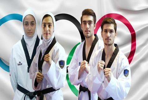 ترکیب تیم تکواندو ایران در مسابقات تیمی المپیک توکیو