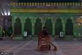 عزاداری شب شهادت حضرت زهرا(س) در حرم امام خمینی(س)