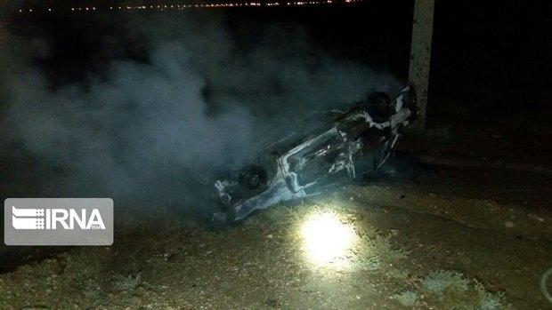 سانحه رانندگی محور پارسیان-عسلویه ۶ فوتی داشت