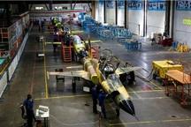 خط تولید انبوه اولین جت جنگنده ایرانی در اصفهان افتتاح شد