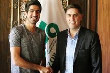 قرارداد سید محمدرضا حسینی با تیم ذوب آهن تمدید شد