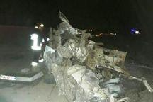 برخورد قطار با خودرو در شاهرود تلفات جانی نداشت