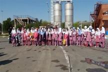 بازدید دانش آموزان شهرک بعثت ماهشهر از  قسمتهای مختلف ایستگاه مرکزی آتش نشانی سازمان منطقه ویژه اقتصادی پتروشیمی
