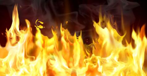 آتش سوزی در برج مروارید مشهد + فیلم