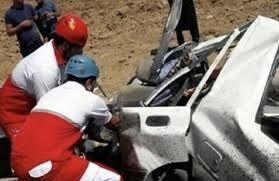 یک کشته و ۳ مجروح در تصادف جاده پلدختر- اندیمشک