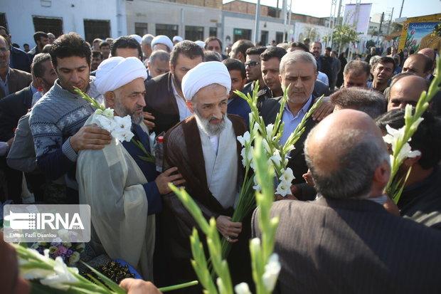 نماینده ولیفقیه در مازندران نخستین روز کاری را از گلزار شهدا شروع کرد
