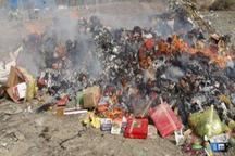 31 تن مواد غذایی فاسد در یزد معدوم شد