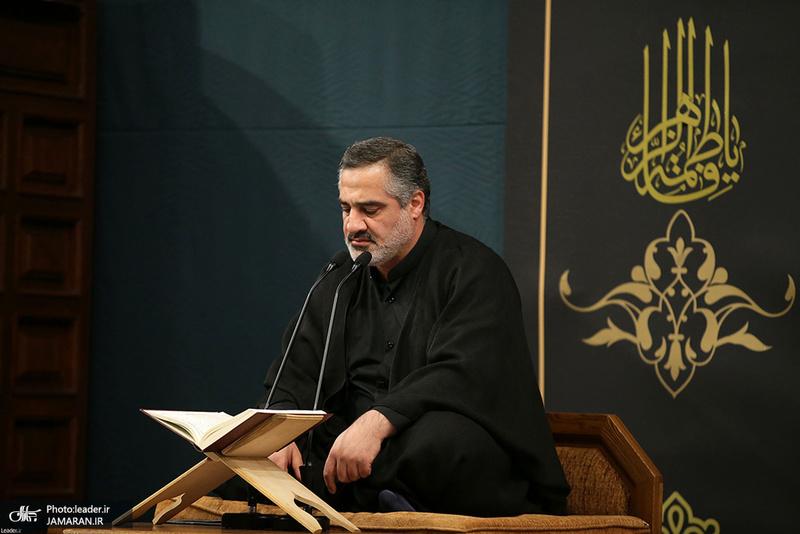 اولین شب عزاداری فاطمیه در حسینیه امام خمینی