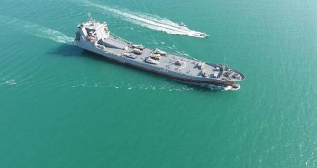 واکنش رسانههای خارجی به رونمایی سپاه از یک ناو اقیانوس پیما