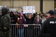 تظاهرات ضدنژادپرستان علیه ترامپ+ تصاویر