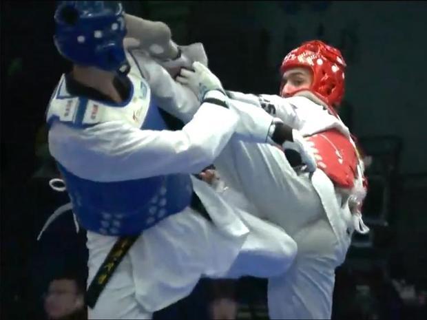 هادی پور مدال برنز مسابقات تکواندو قهرمانی جهان را کسب کرد