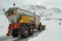 برف سنگین محور جیرفت - بافت را مسدود کرد