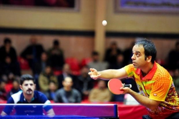 افشین نوروزی در رنکینگ جهانی تنیس روی میز،143پله سقوط کرد