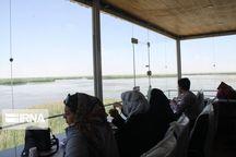 تالاب «کانیبرازان» مهاباد میزبان بیش از ۱۰ هزار گردشگر