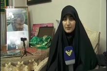 دختر حاجقاسم در گفتوگو با شبکه المنار لبنان: عمویم سید حسن نصرالله و همه گروههای مقاومت انتقام خون پدرم را میگیرند