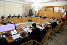 مواردی از پیشنهادهای دستگاههای اجرایی در دولت تصویب شد