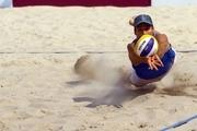 شکست ملیپوشان والیبال ساحلی ایران برابر آمریکا