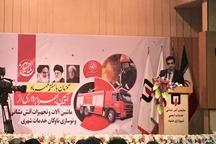 تجهیزات و خودروهای جدید آتش نشانی در مشهد بکار گرفته شد
