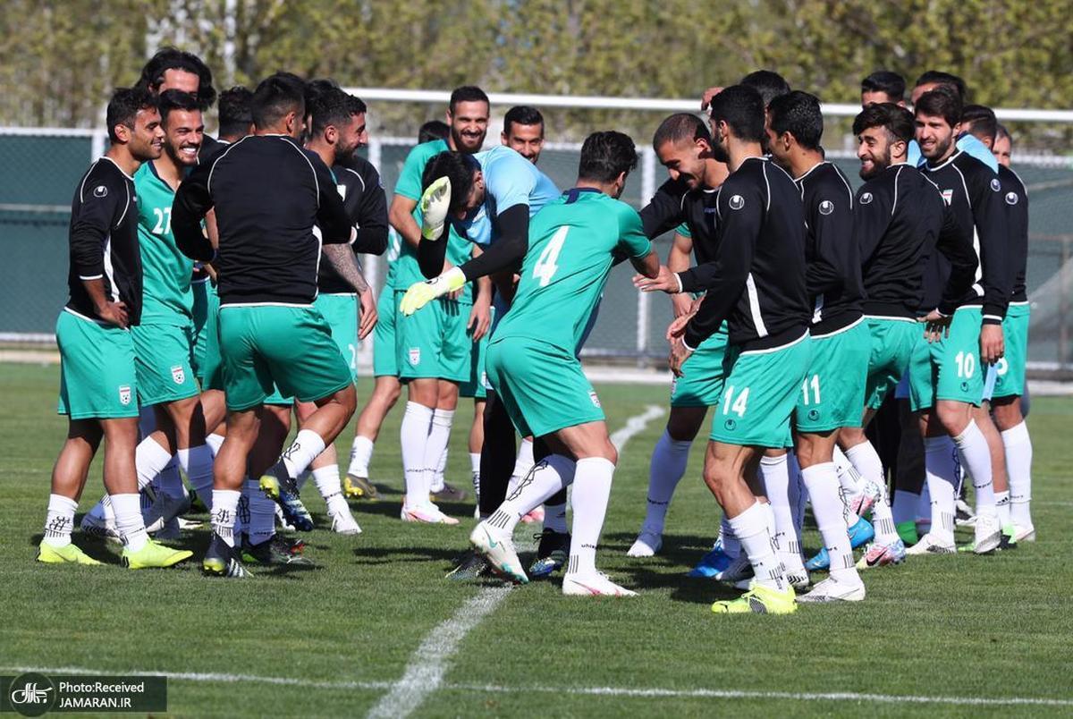 اعلام برنامه تیم ملی فوتبال ایران قبل از سفر به منامه
