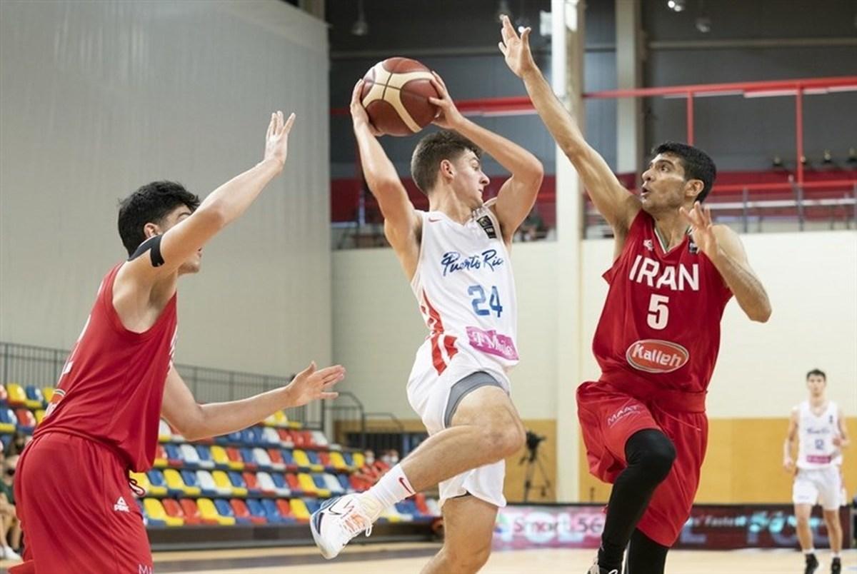 اولین برد بسکتبال ایران در قهرمانی جوانان جهان