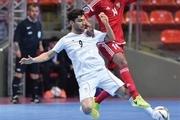 پیروزی ملی پوشان فوتسال مقابل افغانستان و صدرنشینی در دور گروهی