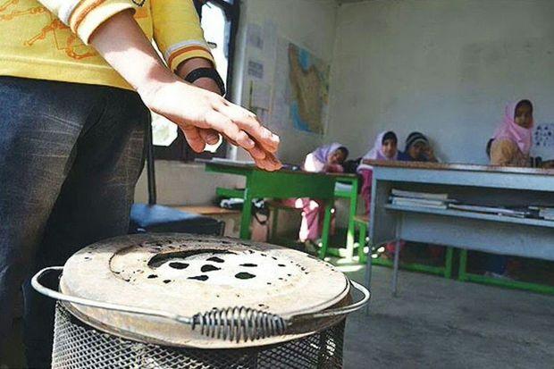 ۱۴۰ مدرسه روستایی کهگیلویه سیستم گرمایشی استاندارد ندارد