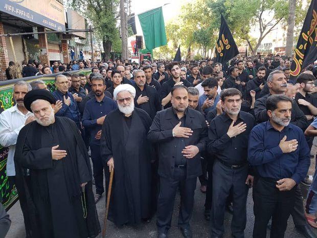تجمع سوگواران اندیمشک در یوم العباس برگزار شد