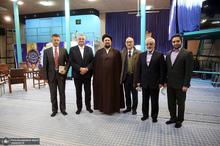 دیدار مفتی اعظم کرواسی و سفیر این کشور در ایران با سید حسن خمینی