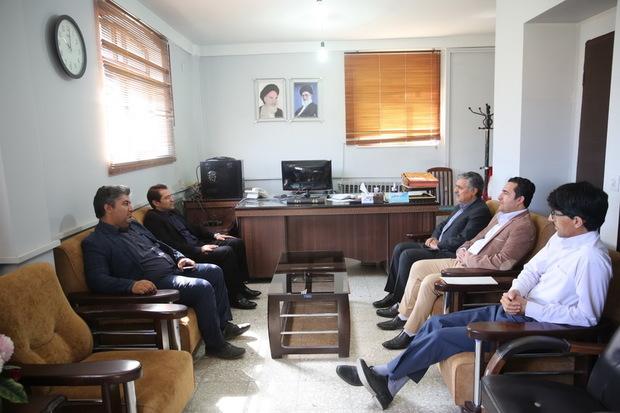 مدیرکل میراث فرهنگی کرمانشاه از ایرنا بازدید کرد