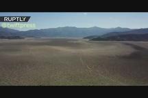 بدترین خشکسالی 60 سال اخیر در شیلی و خشک شدن کامل دریاچه آکولئو