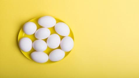 نرخ تخم مرغ در میادین میوه و تره بار/ عکس