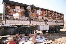 12 میلیارد ریال کالای قاچاق در پلدختر کشف شد