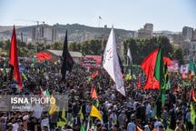 اجتماع عظیم ۴۰ هزار نفری بسیجیان آذربایجان غربی برگزار شد
