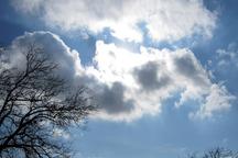 امروز هوای قم نیمه ابری است