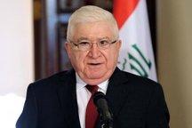 رئیس جمهور عراق در مراسم تحلیف حسن روحانی شرکت می کند