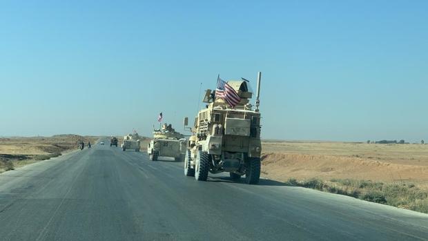 ورود تانک های «آبرامز»آمریکا به سوریه برای نخستین بار+ عکس