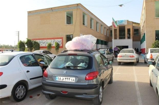 بیش ازهفت هزار مسافر نوروزی در مدارس هندیجان اسکان یافتند