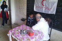 800 نفر از خدمات هلال احمر در مناطق محروم گیلان بهره بردند