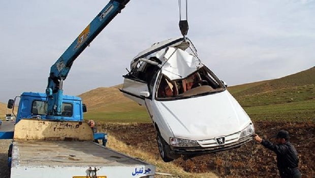 خواب آلودگی راننده جان 2 نفر  را در خوزستان گرفت