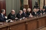 کابینه جدید روسیه؛ ابقای 4 وزیر