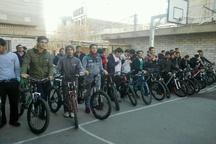 برگزاری مسابقات دوچرخه سواری مدارس استان قزوین