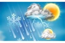 کاهش دما، وزش باد و بارش مخلوط برف و باران در گیلان