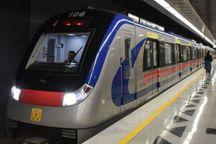 فاصله حرکت قطارهای خط 3 مترو تهران  کاهش یافت